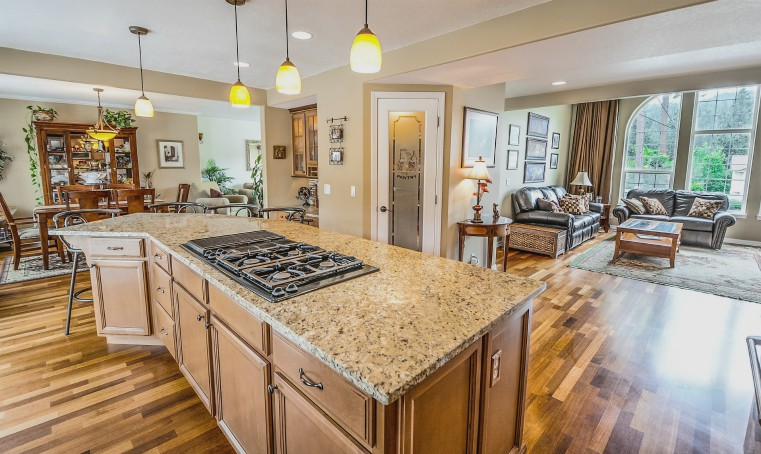 heated granite countertop