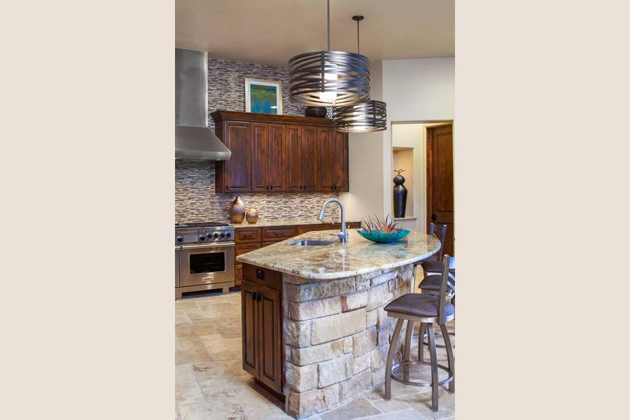 13 Luxurious Curved Countertop Ideas For Your Kitchen Island
