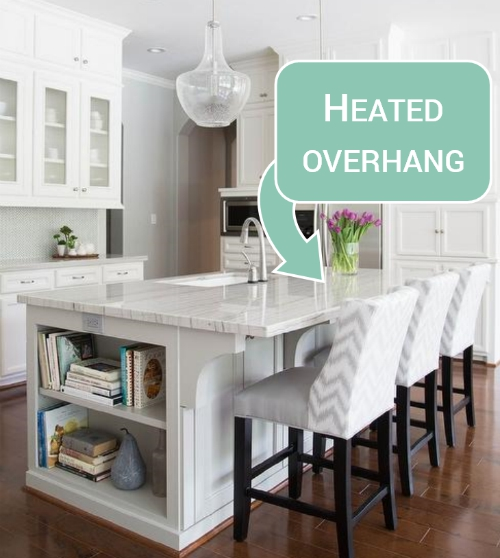Granite Countertop Warmer: Heat Your Overhang