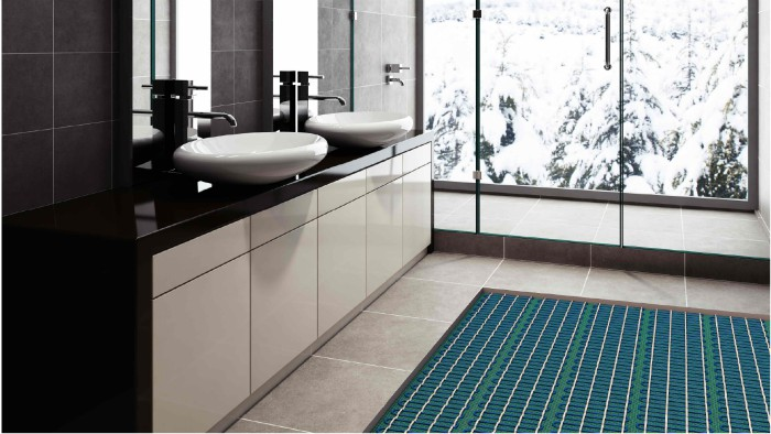 Custom Home Idea: Heated Bathroom Flooring